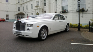 Our Rolls Royce Phantom hire at Venue 11