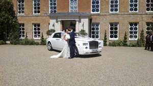 Our Rolls Royce Phantom hire at Venue 2