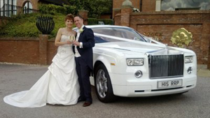 Our Rolls Royce Phantom hire at Venue 3